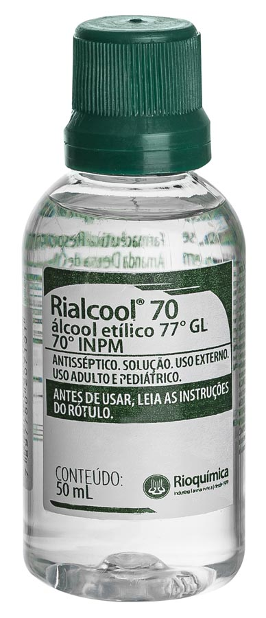 Rio QuímicaRialcool 70 Antisseptico 50ml