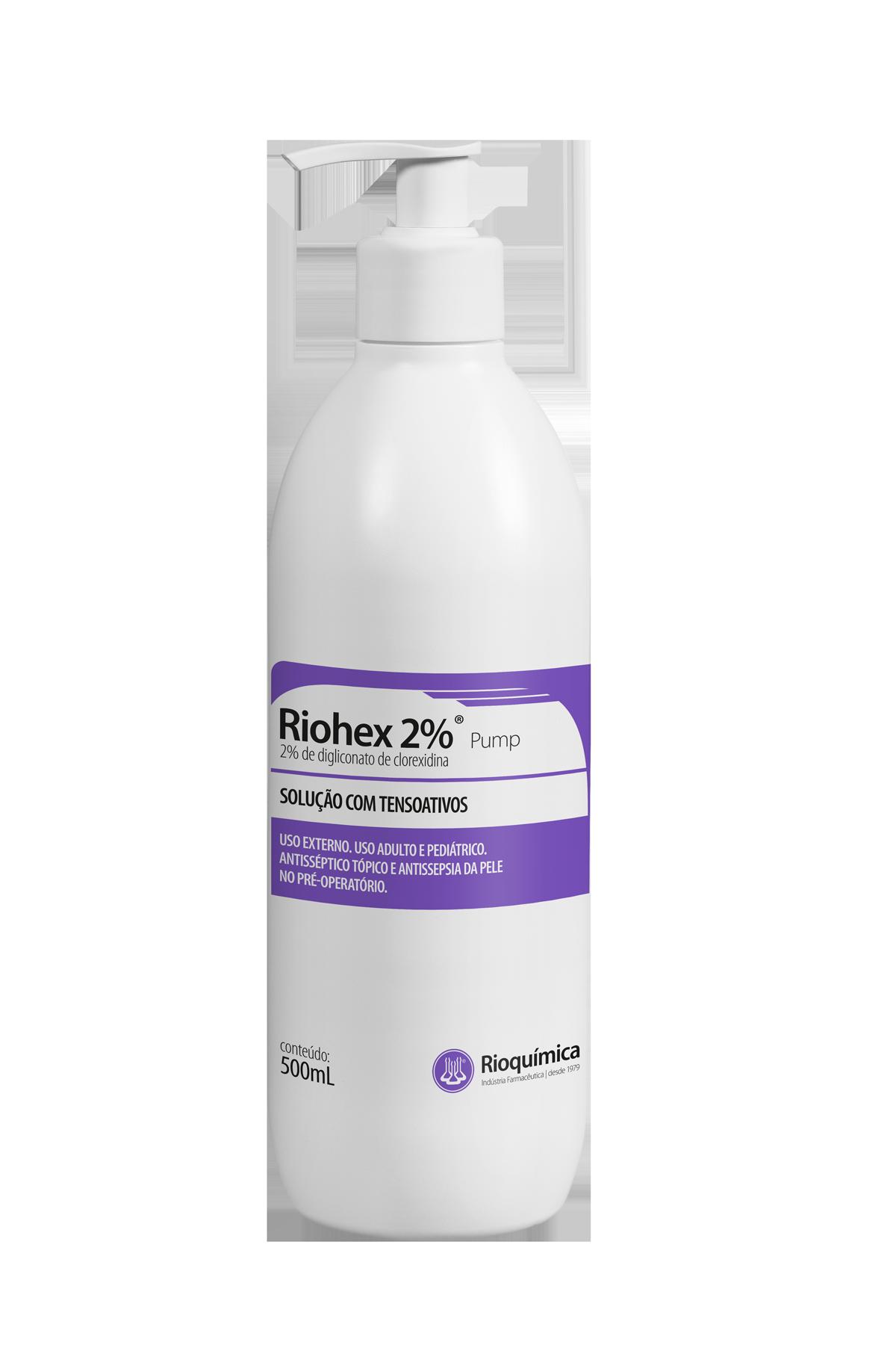 Rio Química Riohex 2% Tensoativo 500ml