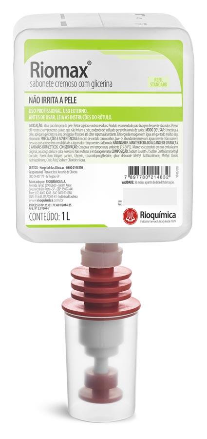 Rio Química Riomax Sabonete Cremoso 1L