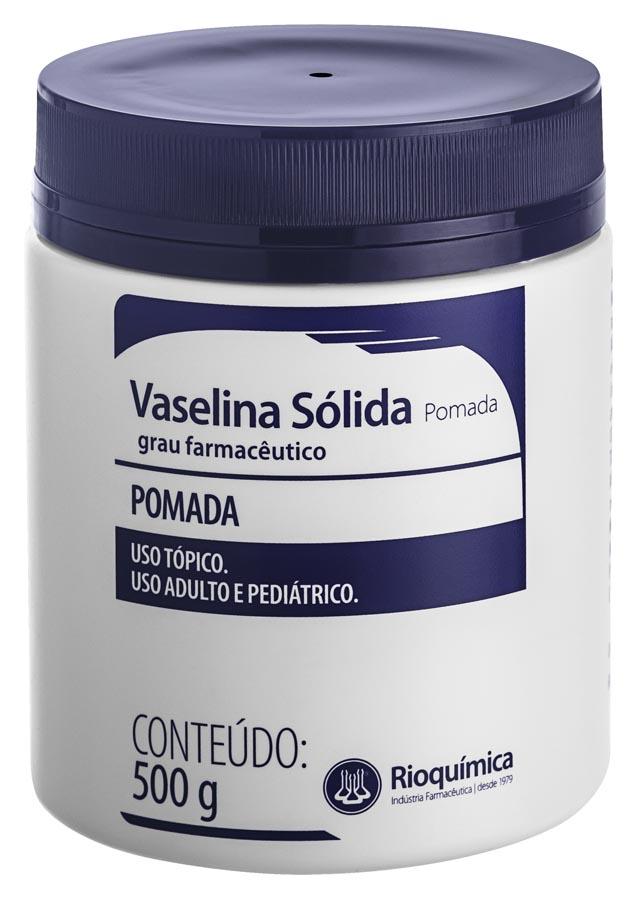 Rio Química Vaselina Sólida (Pomada) 500g