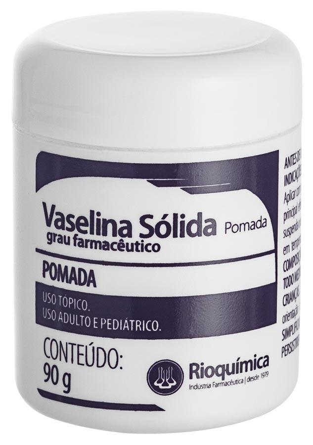 Rio Química Vaselina Sólida (Pomada) 90g