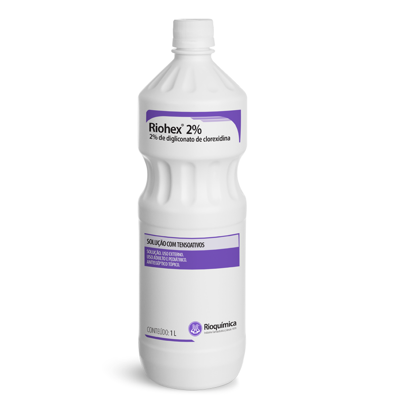 Rio QuímicaRiohex® 2% 1L