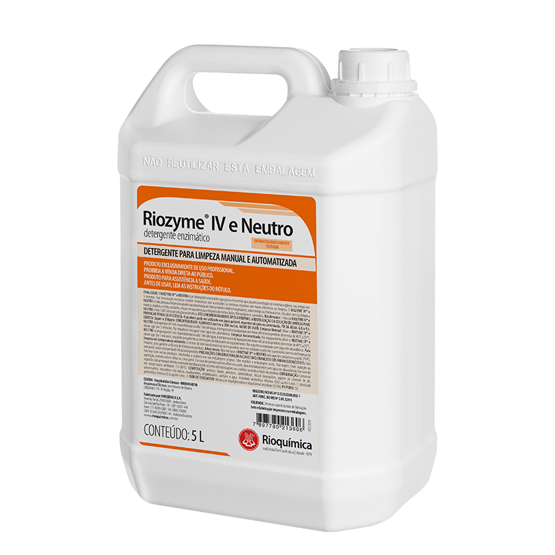 Rio QuímicaRiozyme® IV e Neutro 5L