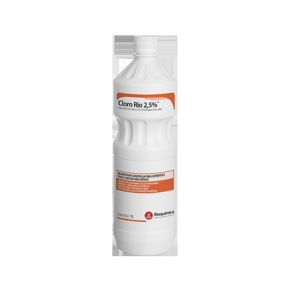 Rio QuímicaCloro Rio 2,5% 1L