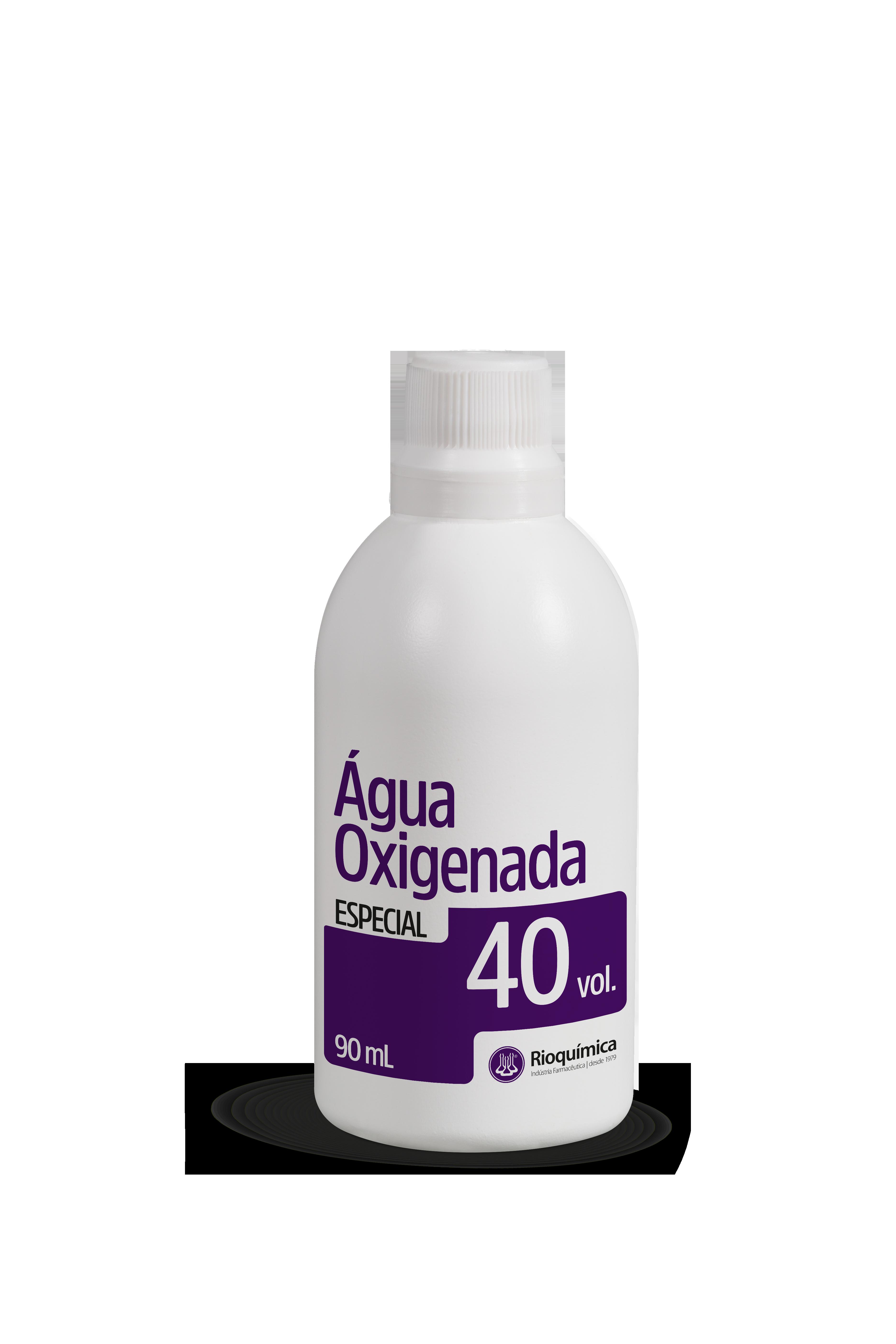 Rio QuímicaÁgua Oxigenada Especial 40 vol. 90ml